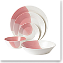 Royal Doulton Signature 1815, 5 Piece Set Coral
