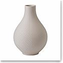 "Wedgwood Folia Jasper Bulb Vase Powder Pink 9.1"""