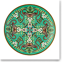 Wedgwood Wonderlust Emerald Forest Plate Coupe 7.8