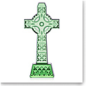Waterford Crystal Emerald Isle Celtic Cross Sculpture