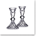 "Waterford Crystal 5"" Candlesticks, Pair"