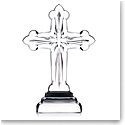 "Waterford Crystal 10"" Star Cross Sculpture"