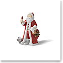 "Royal Copenhagen 2021 Annual Santa 4"" Figurine"
