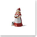 "Royal Copenhagen 2021 Annual Santa's Wife 4"" Figurine"