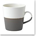 Royal Doulton Coffee Studio Grande Mug Dark Grey, Single