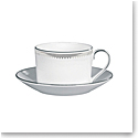 Vera Wang Wedgwood Grosgrain Teacup and Saucer