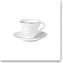 Wedgwood Signet Platinum Teacup and Saucer