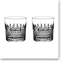Waterford Master Craft Irish Lace OF Tumbler Pair