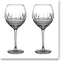 Waterford Master Craft Irish Lace White Wine Pair