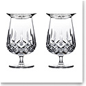 Waterford Crystal Connoisseur Lismore Rum Snifters and Tasting Cap, Pair