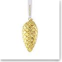 Waterford 2021 Fir Cone Golden Ornament