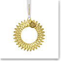 Waterford 2021 Wreath Golden Ornament