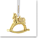 Waterford Crystal 2021 Rocking Horse Golden Ornament
