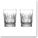 Waterford Crystal 2021 Winter Wonders Midnight Frost DOF Pair