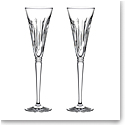 Waterford Crystal 2021 Winter Wonders Midnight Frost Flute Pair