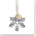 Waterford Crystal 2021 Mini Poinsettia Ornament
