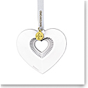 Waterford Crystal 2021 Heart Ornament
