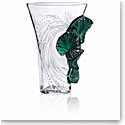 "Lalique Palme 14.5"" Vase, Limited Edition"