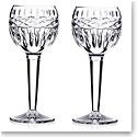 Waterford Crystal Kells Hock Wine Glasses, Pair