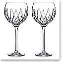 Waterford Crystal Fitzgerald Balloon Wine Pair