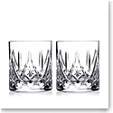 Waterford Crystal, Fitzgerald Straight Sided OF Glasses, Pair