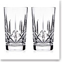 Waterford Crystal Eimer Hiball Glasses, Pair