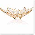 Lalique Champs Elysees Grand Bowl, Gold Luster
