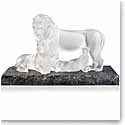 Lalique Lion Sculpture, Clear, Limited Edition of 12