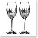 Waterford Crystal Lismore Diamond Essence Wine Pair