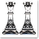 """Waterford Crystal Lismore Candlestick 6"""" Pair"""
