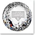 Waterford 2020 MLB World Series Champions, LA Dodgers Baseball Paperweight, Limited Edition