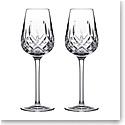 Waterford Crystal Connoisseur Lismore Cognac Glass 10oz. Pair