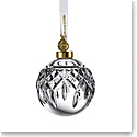 Waterford Crystal 2021 Lismore Bauble Ball Ornament