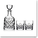 Marquis by Waterford Patterson Decanter and 2 OF Tumbler Set