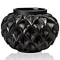 Lalique Languedoc Small Vase, Noir Black