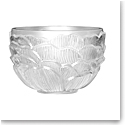 Lalique Photophore Pivoines Votive, Clear