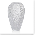 Lalique Sakura Large Vase, Clear