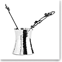 Michael Aram Black Orchid Large Coffee Pot and Spoon