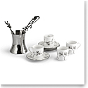 Michael Aram Black Orchid Coffee Pot and Demitasse Set