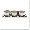 Michael Aram Mirage Triple Bowl Set with Tray
