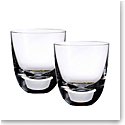 Villeroy and Boch American Bar Straight Bourbon Cocktail Tumbler Pair