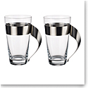 Villeroy and Boch New Wave Glass Macchiato for Two Set