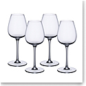 Villeroy and Boch Purismo Wine Red Wine Intricate and Delicate Set of 4
