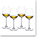 Villeroy and Boch Purismo Wine White Wine Fresh and Light Set of 4