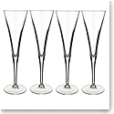Villeroy and Boch Purismo Special Flute Champagne Set of 4