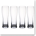 Villeroy and Boch Purismo Wheat Beer Pilsner, Set of Four