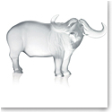 Lalique Zodiac Nam Buffalo Sculpture, Clear