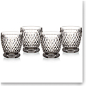 Villeroy and Boch Boston Double Old Fashioned, Set of Four