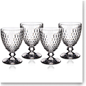 Villeroy and Boch Boston Goblet Set of 4