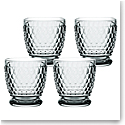Villeroy and Boch Boston Colored Double Old Fashioned Smoke Set of 4
